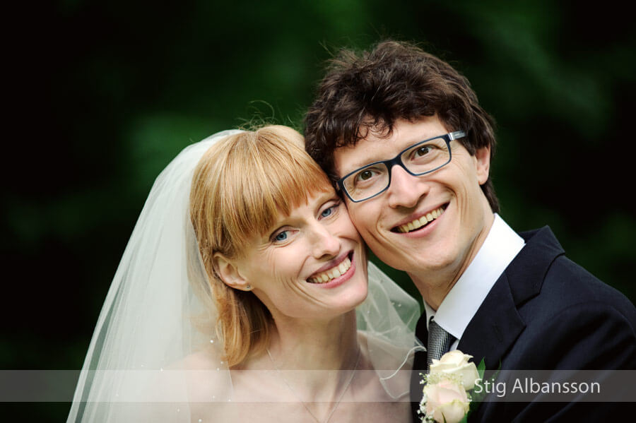 Bröllopsfoto i Onsala kyrka & på Onsala Herrgård